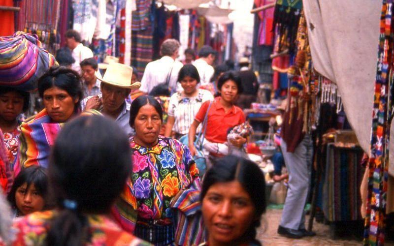 viaje a guatemala-mercado de chichicastenango