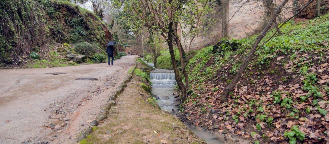 cuesta de los chinos agua otoño exteriores DSC_0203